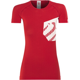 Compressport Casual Postural T-Shirt Staff Women Red